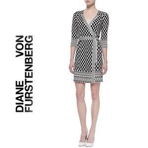 Diane Von Furstenburg Tallulah Silk Wrap Dress